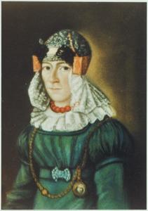 Portret van Maartje Stuijt ( -1873)