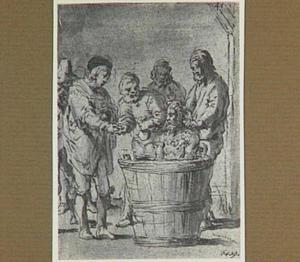 Madrileense studenten twijfelen aan de 'echtheid' van het zeemonster (Lazarillo de Tormes dl. 2, cap. 6, p. 72)