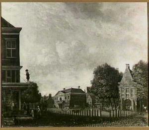 De Botermarkt in Amsterdam (thans Rembrandtplein)