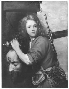 David met het hoofd van Goliat  (1 Samuel 17:54)
