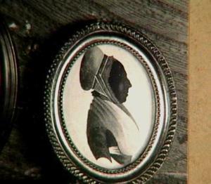 Portretminiatuur van Maria Prins (1742-1815)