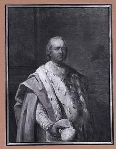 Portret van Jean Baptiste Dufresne (1729-1791), voorlaatste abt van de abdij van Floreffe
