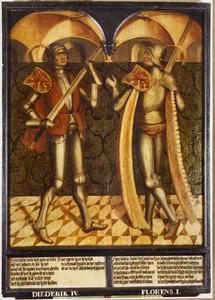 Haarlemse gravenportretten: Diederik IV en Florens I