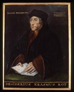 Portret van Desiderius Erasmus (1467-1536)