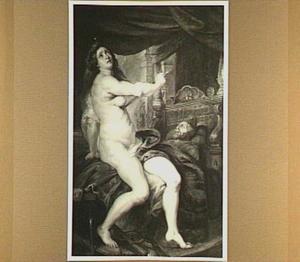 Pantheia pleegt zelfmoord naast het lijk van haar man Abradatas