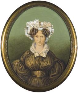Portret van Christina Elisabeth van Loghem (1777-1859)