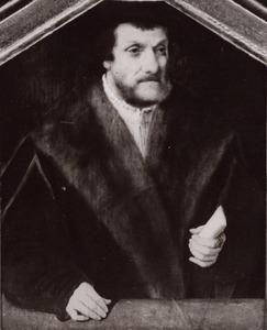 Portret van een man, mogelijk Balthasar van Kerpen (1480-?)