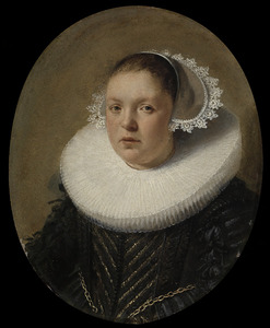 Portret van Josina Jandsr. de Carpentier (1601-1634)
