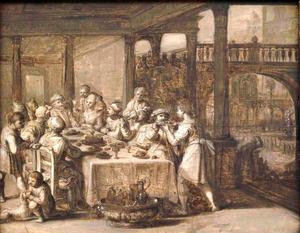 De gelijkenis van de rijke man en de arme Lazarus (Lucas 16:19-31)