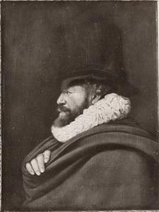 Portret van een man, mogelijk Hendrick de Keyser (1565-1621)