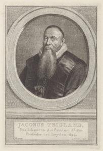Portret van Jacobus Trigland (1583-1654)