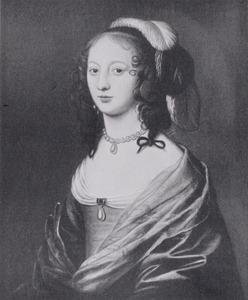 Portret van Maria Anna von Bronckhorst -Batenburg (1624-1661)
