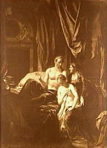 Sarai [Sara] brengt Hagar tot Abram [Abraham] (Genesis 16:3)
