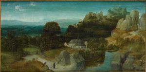 Landschap met de H. Antonius