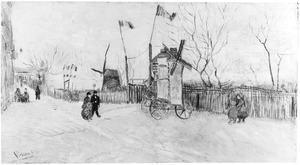 Een hoekje van Montmartre