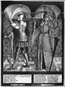 Haarlemse gravenportretten: Godfried van Lotharingen en Dirk V