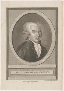Portret van Jérôme Péthion de Villeneuve (1756-1794)