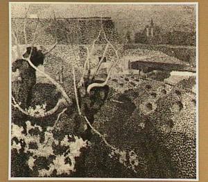 Bloembollenvelden bij Oegstgeest