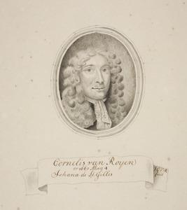 Portret van Cornelis van Royen (1646-1704)