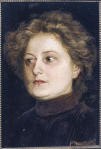 Portret van Louise Sluijters (1883-....)