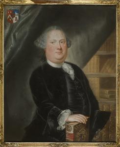 Portret van Arnoldus Fredericus Hogerwaard (1727-1765)