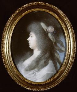 Portret van Ida Bartha Hoff (1767-1839)