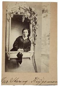 Portret van Christiana Magdalena Krijgsman (1826-1895)
