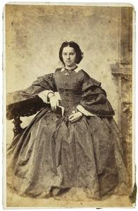 Portret van Anna Ens (1833-1893)
