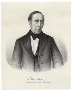 Portret van Frederic van Olden (1799-1877)
