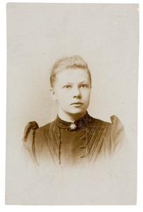 Portret van Ada Gerharda Donkersloot (1872-...)
