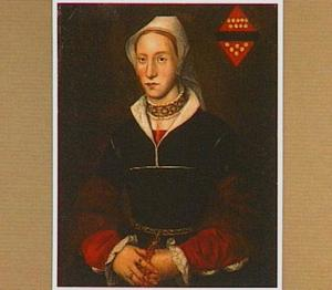 Portret van Margaretha van der Merwede (1525-1593)