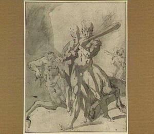 Hercules doodt de centaur Eurytion (Hyginus, 33)