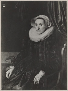 Portret van Sara Bosschaert (1561-1627)