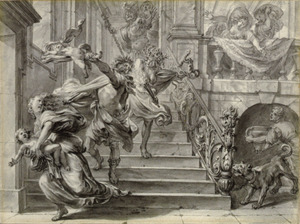 Athamas verscheurt zijn kinderen (Metamorfosen)