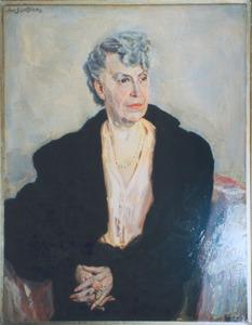 Portret van mevrouw Van Dooren-Swagemakers (1872-1969)