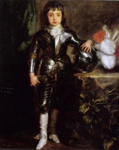 Portret van Karel II van Engeland (1630-1685) als prins van Wales