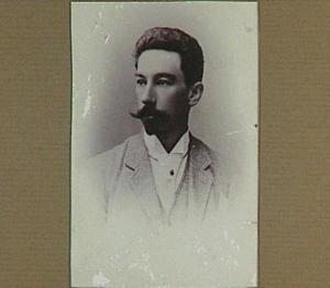 Portret van de schilder Bernard Koldeweij