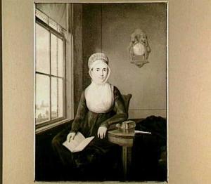 Portret van Maria Huysers (1767-1845), tweede echtgenote van Simon van Brakel