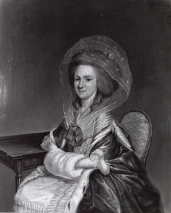 Portret van Maria Backer (1758-1801)
