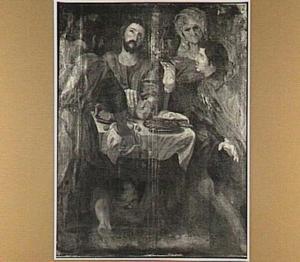 De maaltijd te Emmaüs (Lucas 24:30-31)