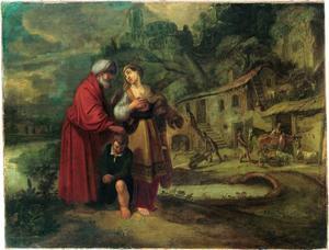 De wegzending van Hagar en Ismaël