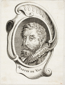 Portret van Maerten de Vos (1532-1603)