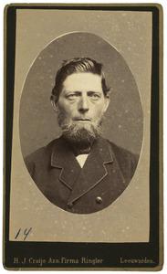 Portret van Gerben Ymtes Heeg (1846-1896)