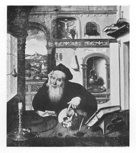 De H. Hieronymus in zijn studeervertrek