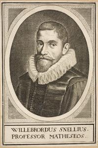 Portret van Willebrordus Snellius (1580-1626)
