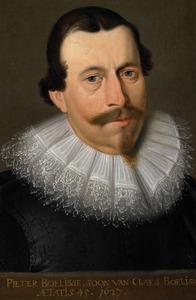 Portret van Pieter Claesz. Boelens (1582-1627)