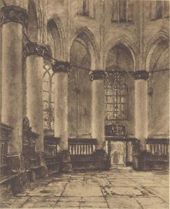 Interieur kerk te Naarden