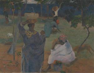 Onder de mangobomen op Martinique