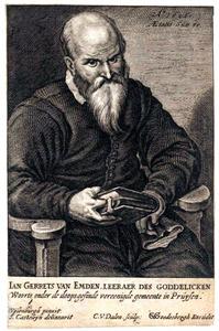 Portret van Jan Gerritsz. van Emden (1561-1617)