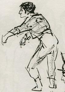 Portret van Marcel Manceau (1923-2007)